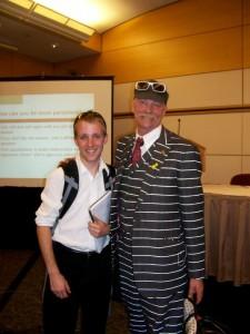 Austin with Gary Fisher, National Bike Summit 2010