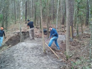 Blue Clay Trail Build