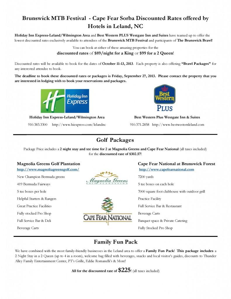 Brunswick Brawl Package info 2013(1)1